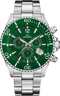 Швейцарские мужские часы в коллекции Santiago Мужские часы Delma 41701.564.6.144