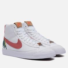 Женские кроссовки Nike Blazer Mid 77 Catechu, цвет белый, размер 40 EU