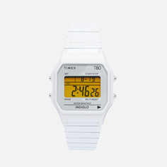 Наручные часы Timex T80, цвет белый