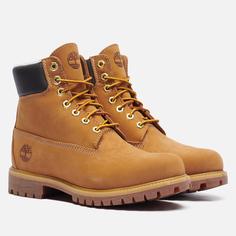 Мужские ботинки Timberland 6 Inch Premium Waterproof Warm Lined, цвет коричневый, размер 41 EU