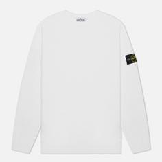 Мужская толстовка Stone Island Crew Neck Cotton Fleece, цвет белый, размер M
