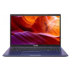 """Ноутбук ASUS X509MA-BR547T, 15.6"""", Intel Pentium Silver N5030 1.1ГГц, 4ГБ, 256ГБ SSD, Intel UHD Graphics 605, Windows 10, 90NB0Q33-M11180, синий"""