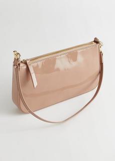 Небольшая сумка из лакированной кожи & Other Stories