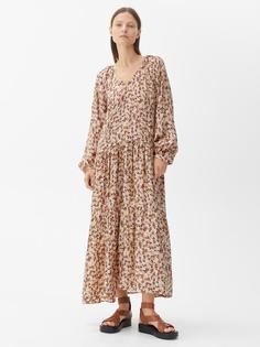Платье макси с цветочным принтом Arket