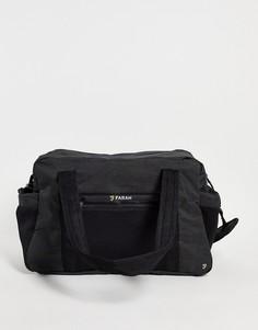 Темно-серая сумка Farah-Черный цвет