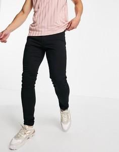 Черные супероблегающие джинсы Diesel D-Amny-y-Черный цвет