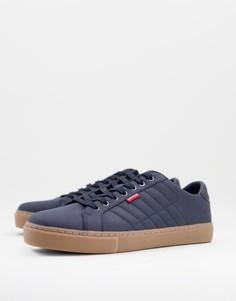 Темно-синие кроссовки Levis Woodward Craft-Темно-синий