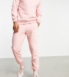 Розовые джоггеры Puma Essentials-Розовый цвет