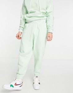 Зеленые oversized-джоггеры от комплекта ASOS DESIGN-Зеленый цвет