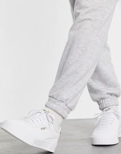 Белые кроссовки Puma Carina Leo H-Белый