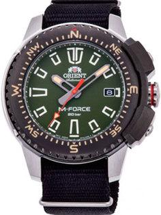 Японские наручные мужские часы Orient RA-AC0N03E10B. Коллекция M-Force