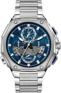 Японские наручные мужские часы Bulova 96B349. Коллекция Precisionist
