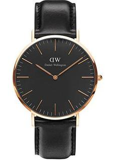 fashion наручные мужские часы Daniel Wellington DW00100127. Коллекция Classic Black Sheffield