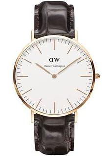 fashion наручные мужские часы Daniel Wellington 0111DW. Коллекция York