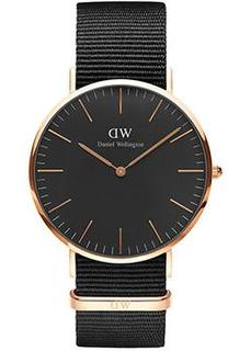 fashion наручные мужские часы Daniel Wellington DW00100148. Коллекция Classic Black Cornwall