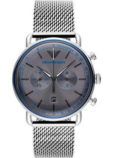 fashion наручные мужские часы Emporio armani AR11383. Коллекция Aviator