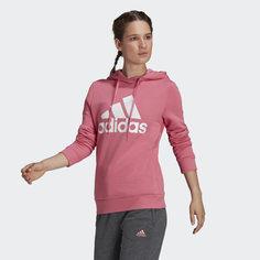 Флисовая худи LOUNGEWEAR Essentials Logo adidas Sport Inspired