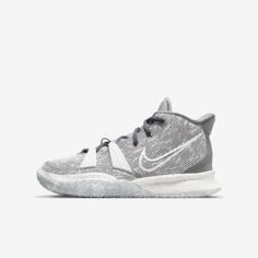 Баскетбольные кроссовки для школьников Kyrie 7 SE - Серый Nike