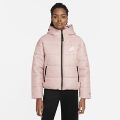 Женская куртка с капюшоном Nike Sportswear Therma-FIT Repel - Розовый