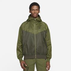 Мужская куртка с капюшоном Nike Sportswear Windrunner - Коричневый