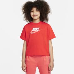 Футболка для девочек школьного возраста Nike Sportswear - Красный