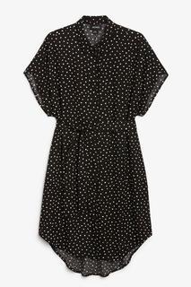 Платье-рубашка с поясом Monki