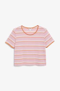 Укороченная футболка Monki
