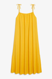 Платье макси из хлопка Monki