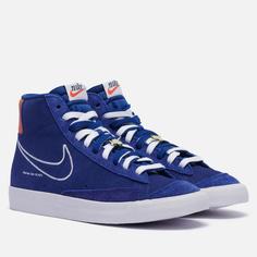 Мужские кроссовки Nike Blazer Mid 77 First Use, цвет синий, размер 45.5 EU