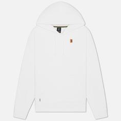 Мужская толстовка Nike Court Fleece Hoodie, цвет белый, размер L
