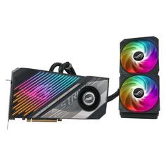 Видеокарта ASUS AMD Radeon RX 6900XT , ROG-STRIX-LC-RX6900XT-T16G-GAMING, 16ГБ, GDDR6, Ret