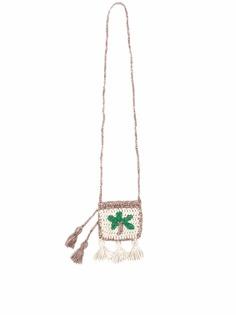 Alanui вязаная мини-сумка с кисточками