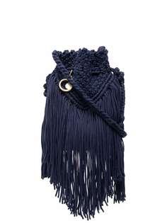 See by Chloé сумка-ведро с бахромой