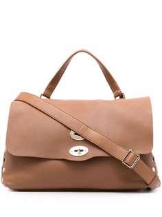Zanellato сумка-тоут из зернистой кожи
