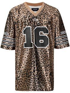 NOON GOONS футболка с леопардовым принтом