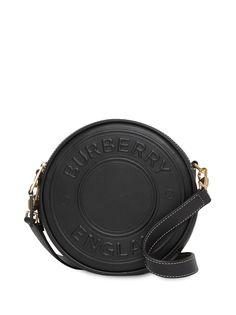 Burberry сумка Louise с тисненым логотипом