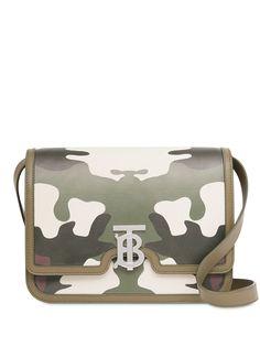 Burberry сумка TB с камуфляжным принтом