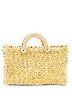 Nannacay соломенная сумка-тоут Belle