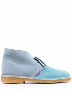 Clarks ботинки дезерты в стиле колор-блок