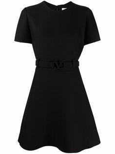 Valentino платье с логотипом VLogo Signature