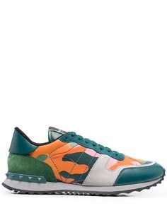 Valentino Garavani кроссовки Rockrunner Camouflage