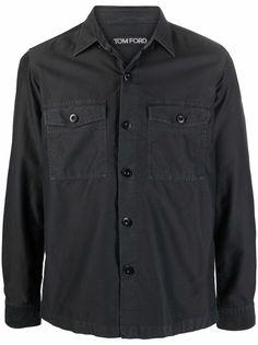 TOM FORD куртка-рубашка на пуговицах