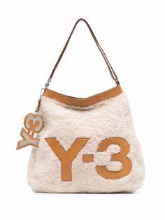 Yohji Yamamoto Pre-Owned сумка на плечо 2000-х годов с нашивкой Y-3