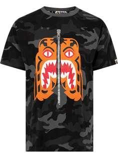 A BATHING APE® футболка Woodland Camo Tiger Bape