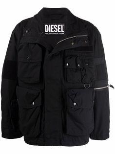 Diesel куртка с карманами