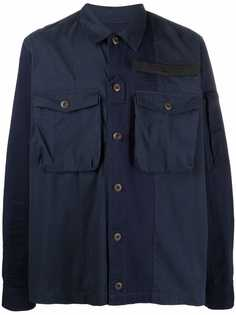 Diesel куртка-рубашка с нагрудными карманами