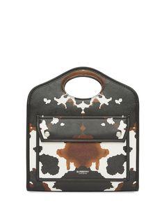 Burberry мини-сумка Pocket с камуфляжным принтом
