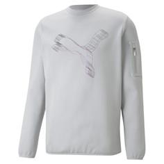 Толстовка Avenir Double-Knit Crew Neck Mens Sweater Puma