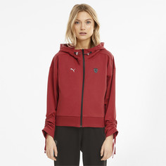 Толстовка Scuderia Ferrari Style Hooded Womens Sweat Jacket Puma