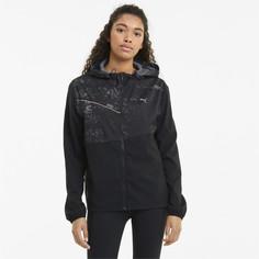 Куртка Graphic Hooded Womens Running Jacket Puma
